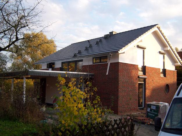 Hausbau der zimmermann haupt for Hausbau bilder
