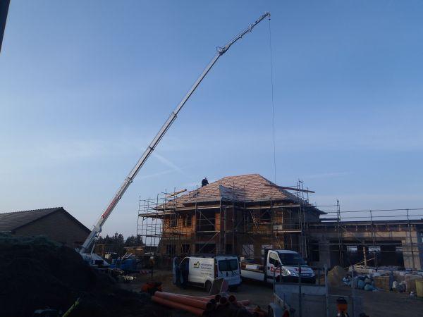 Dacheindeckung der zimmermann haupt for Klassische holzverbindungen zimmermann